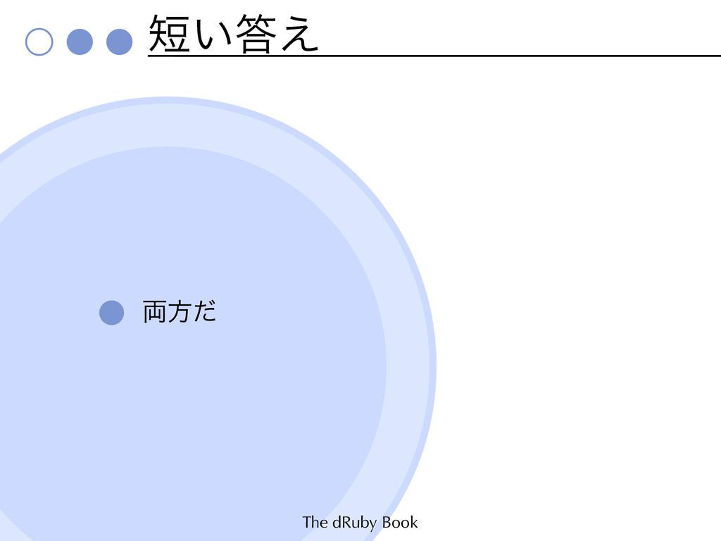 The dRuby Book ͍͑ ྆ํͩ