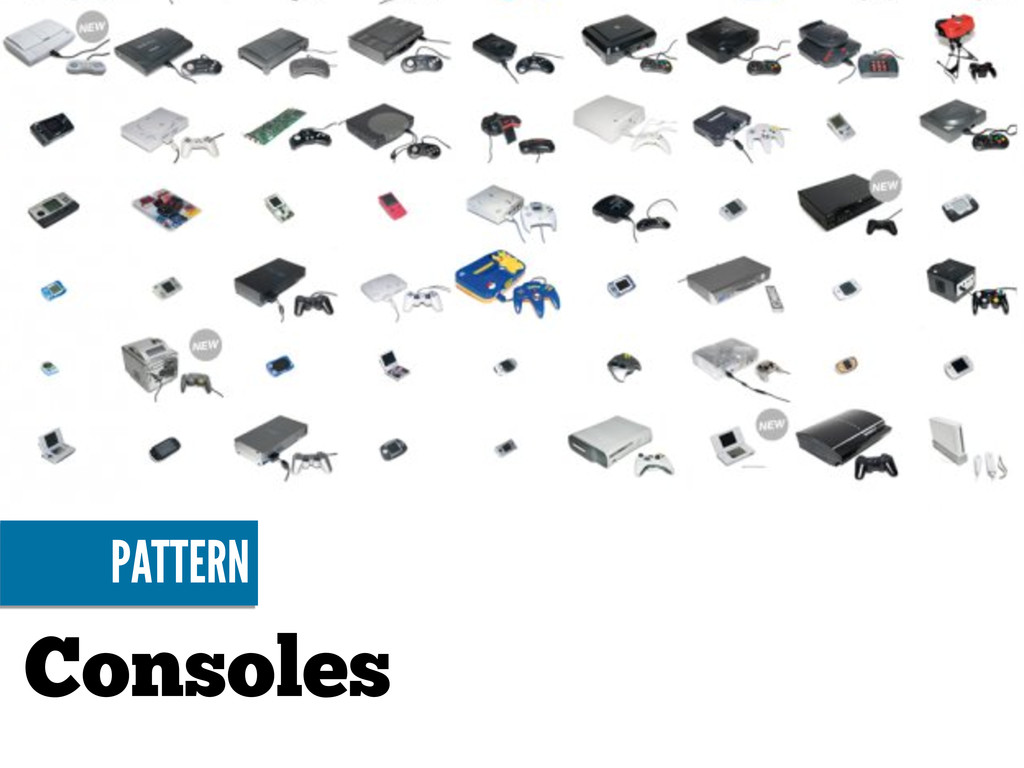 Consoles PATTERN