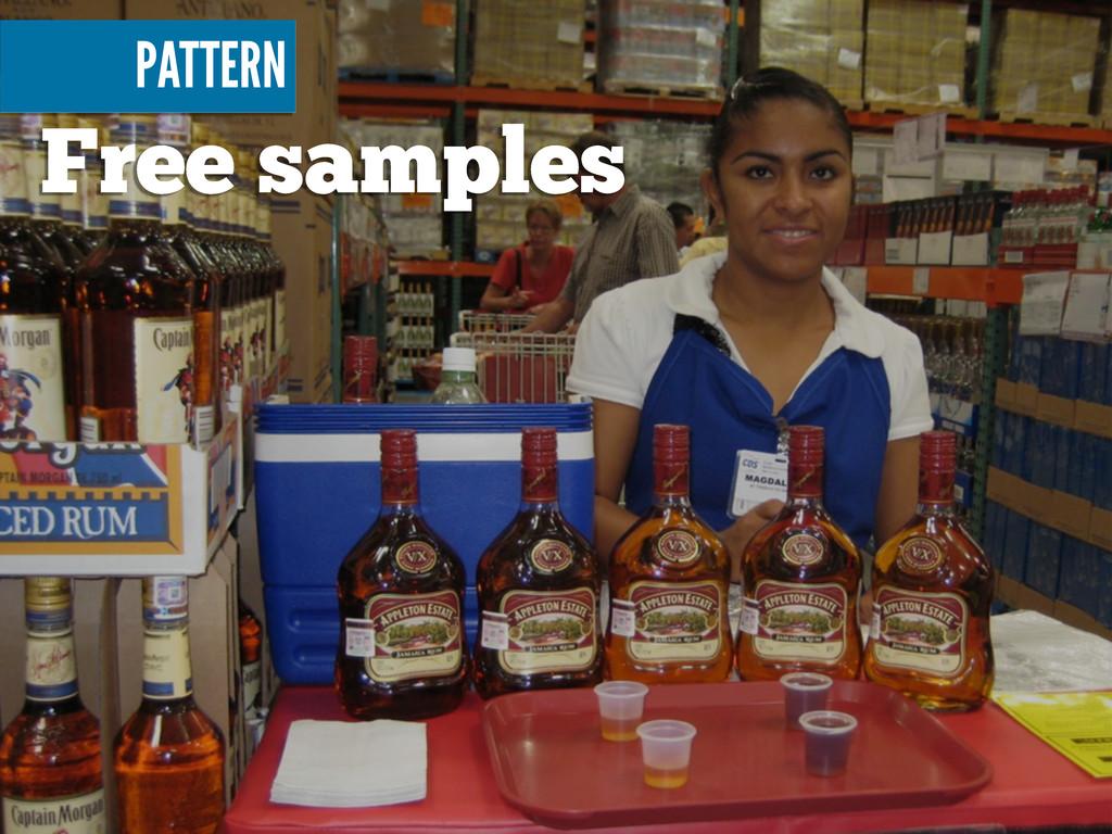 Free samples PATTERN