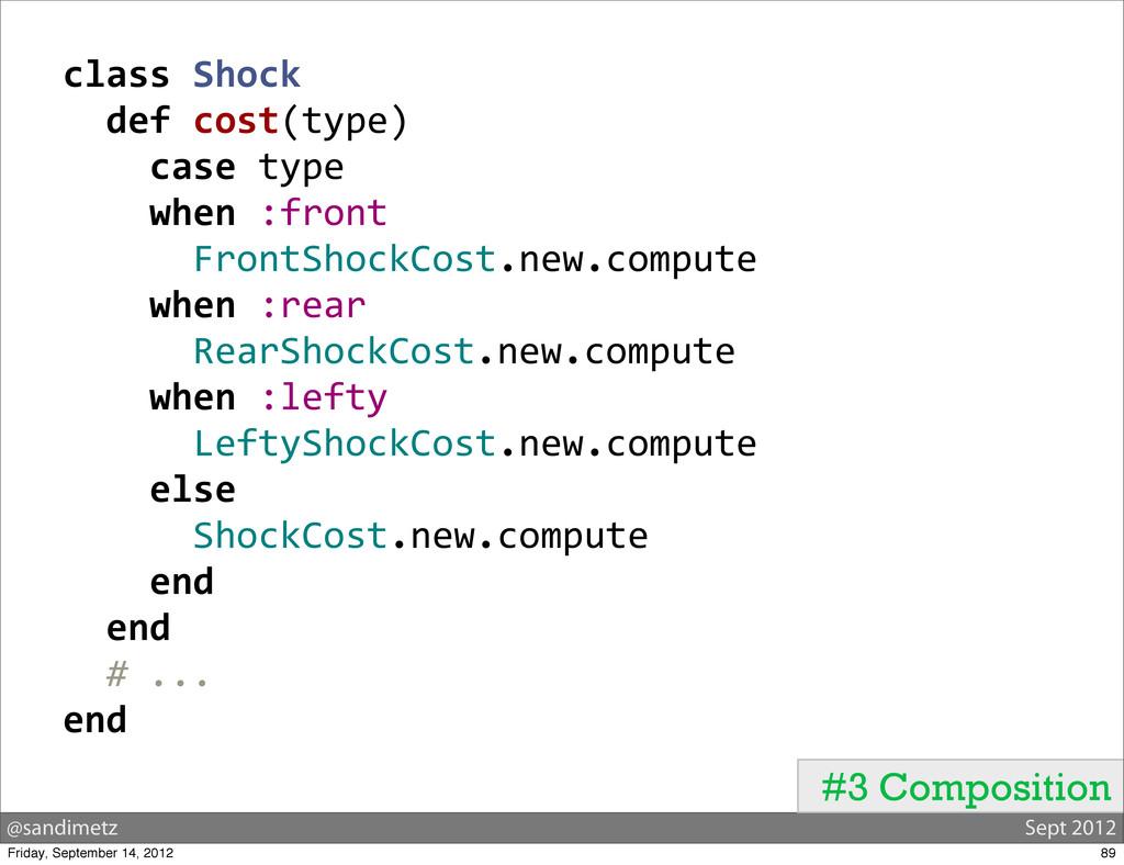 @sandimetz Sept 2012 #3 Composition class Sh...