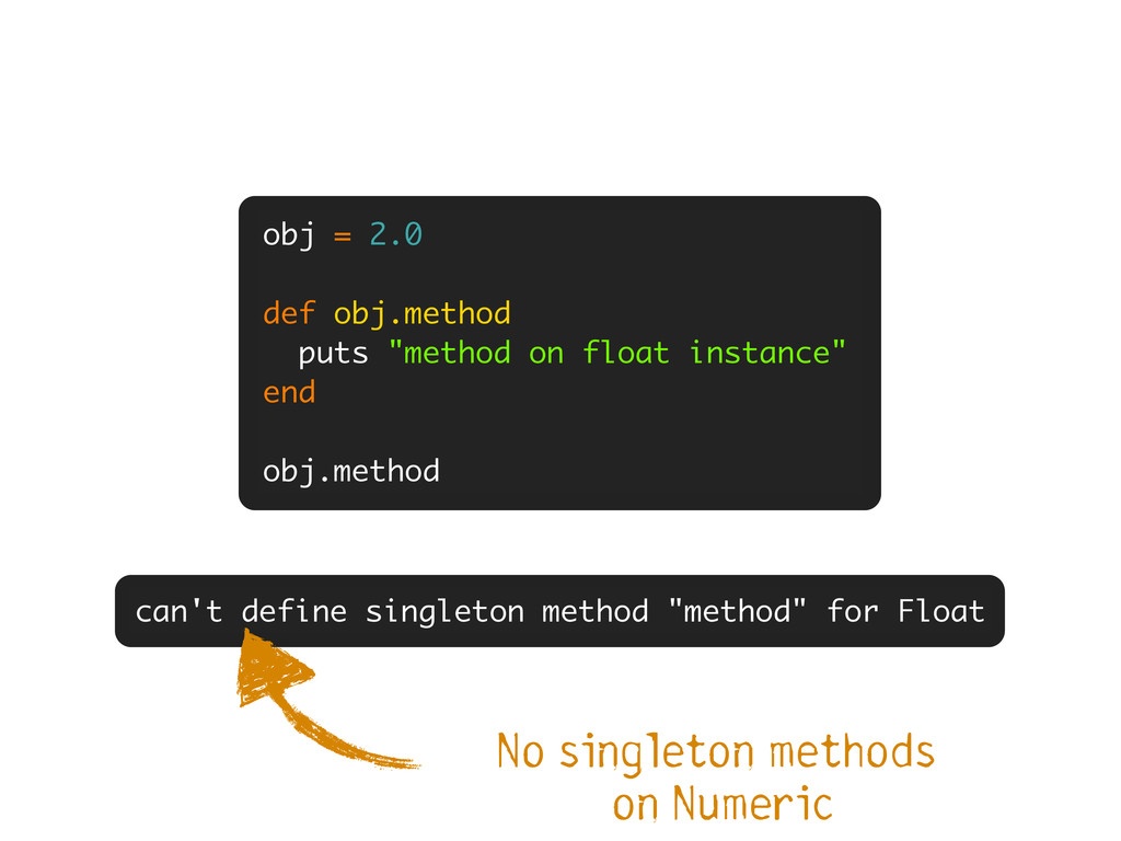 """can't define singleton method """"method"""" for Floa..."""