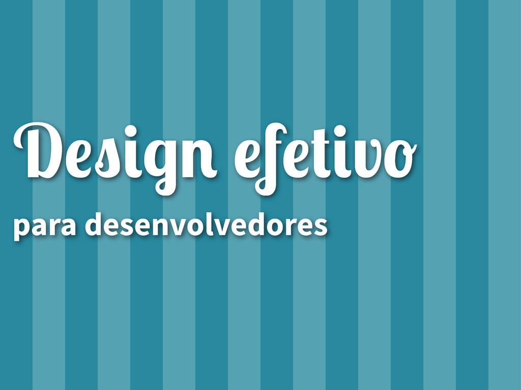 """D!""""#$% !f!&#v' para desenvolvedores"""