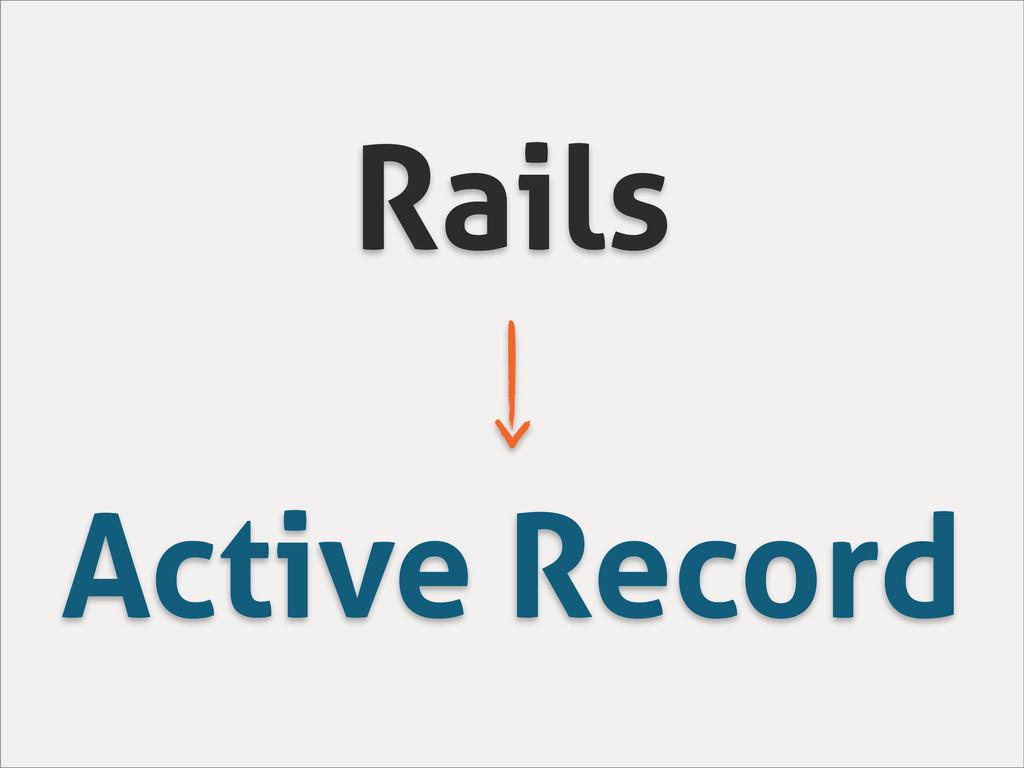 Rails Active Record
