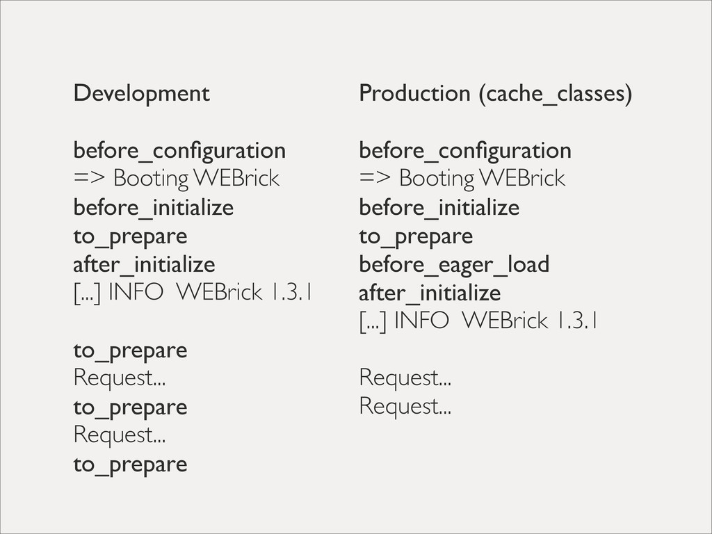Development before_configuration => Booting WEBr...