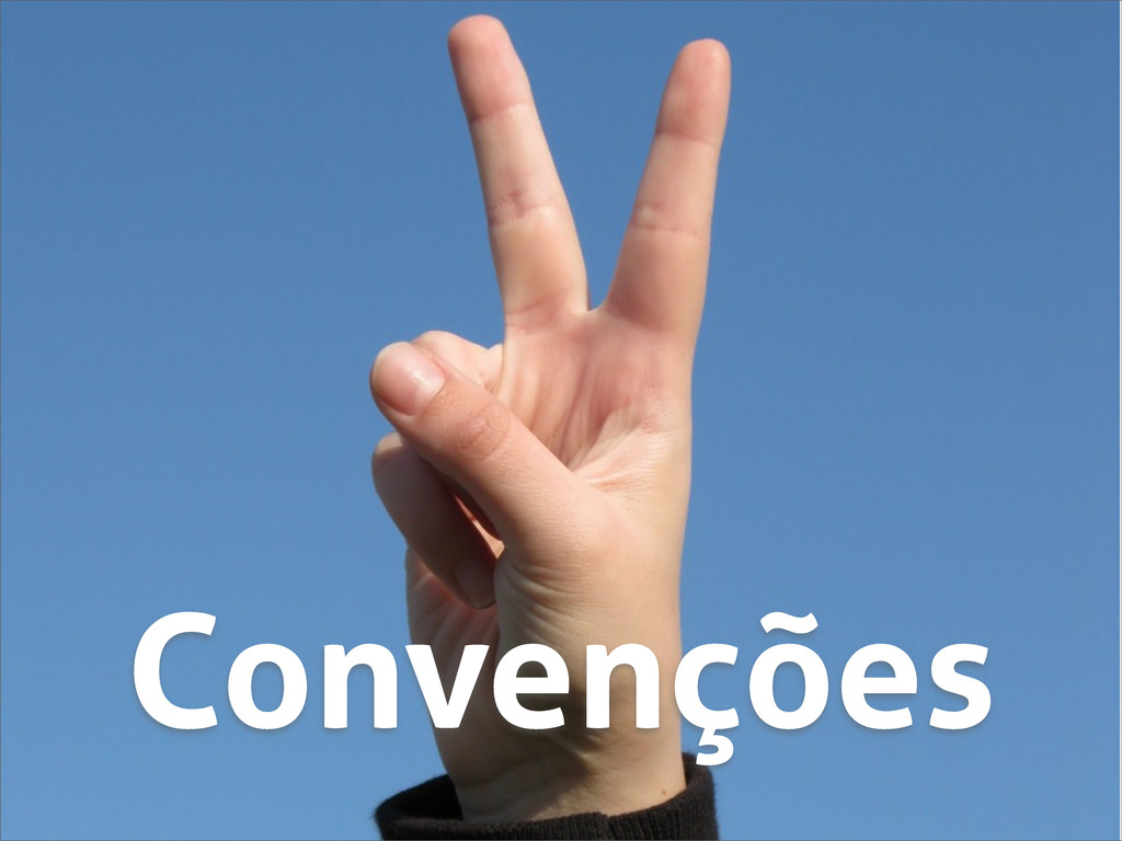 Convenções