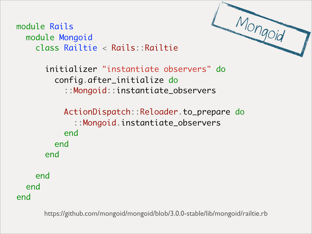module Rails module Mongoid class Railtie < Rai...