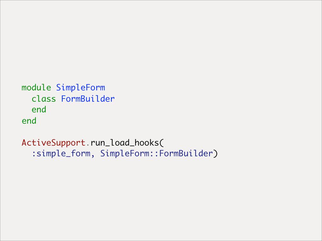 module SimpleForm class FormBuilder end end Act...