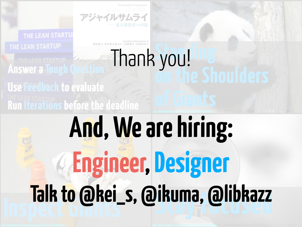 And, We are hiring: Engineer, Designer Talk to ...