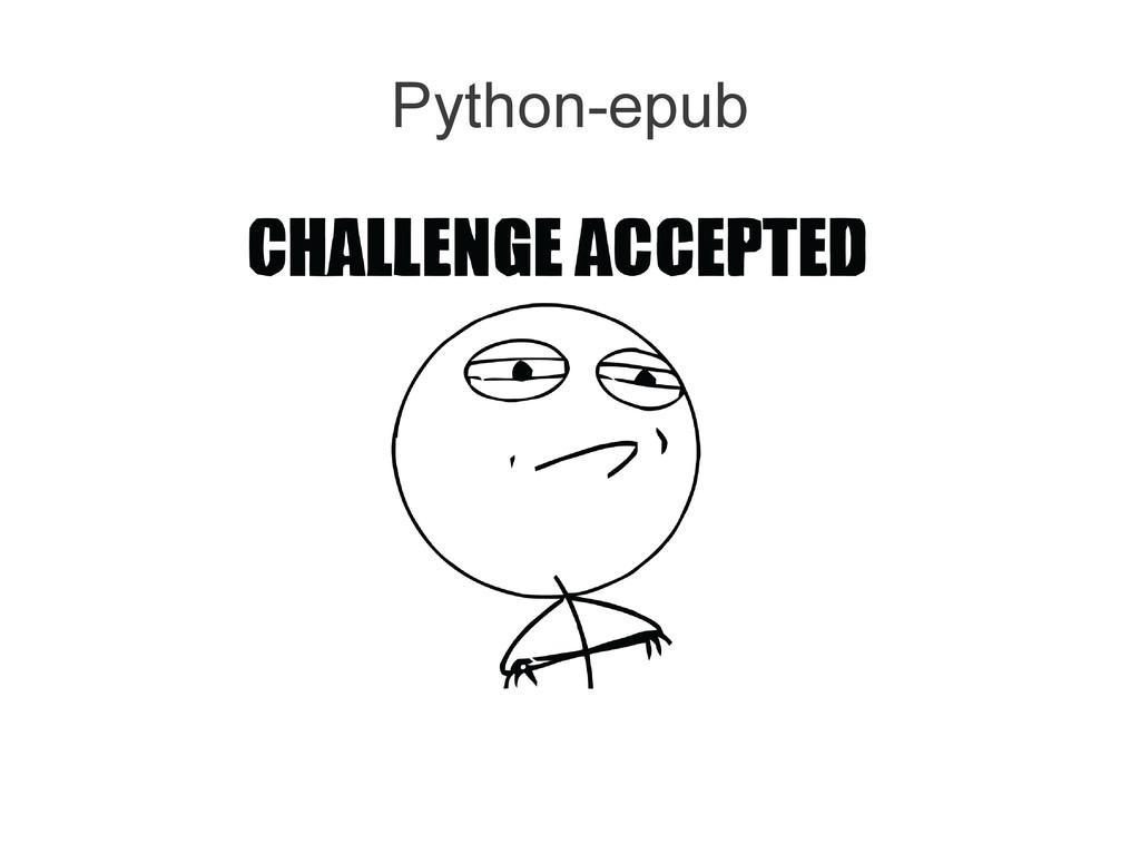 Python-epub