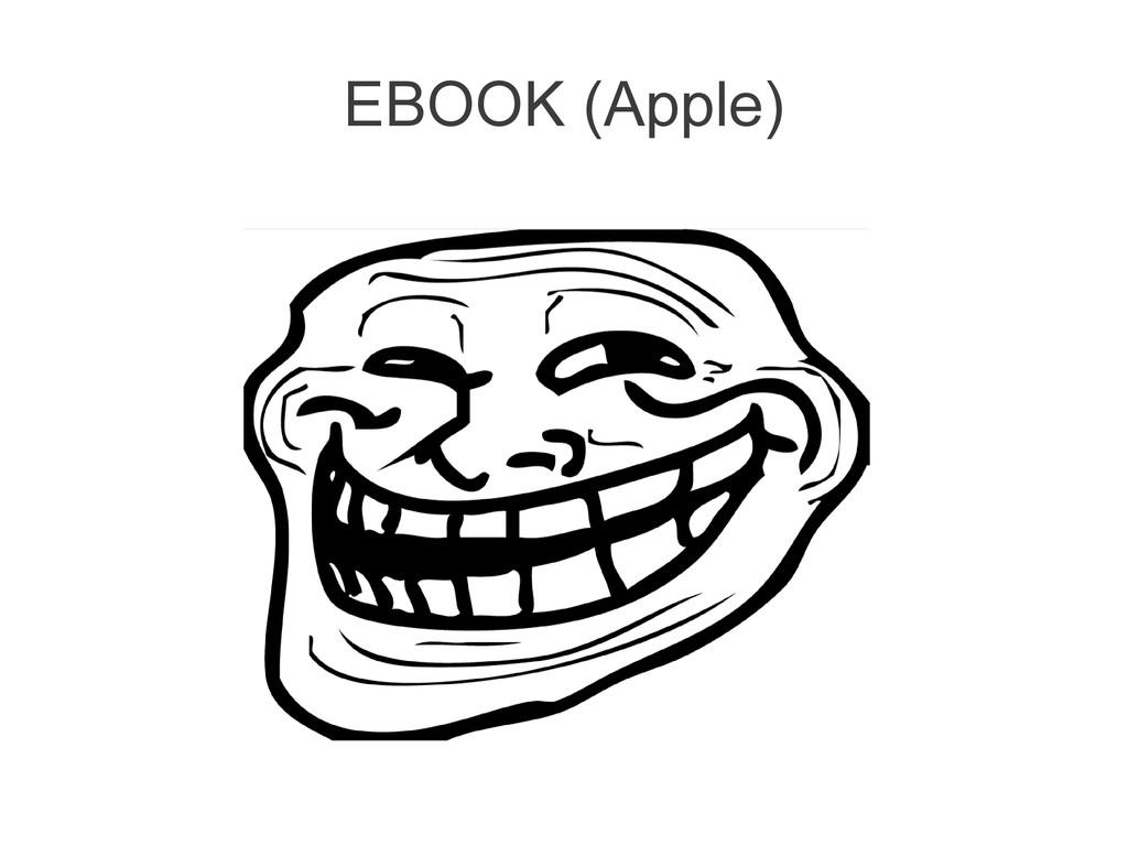 EBOOK (Apple)