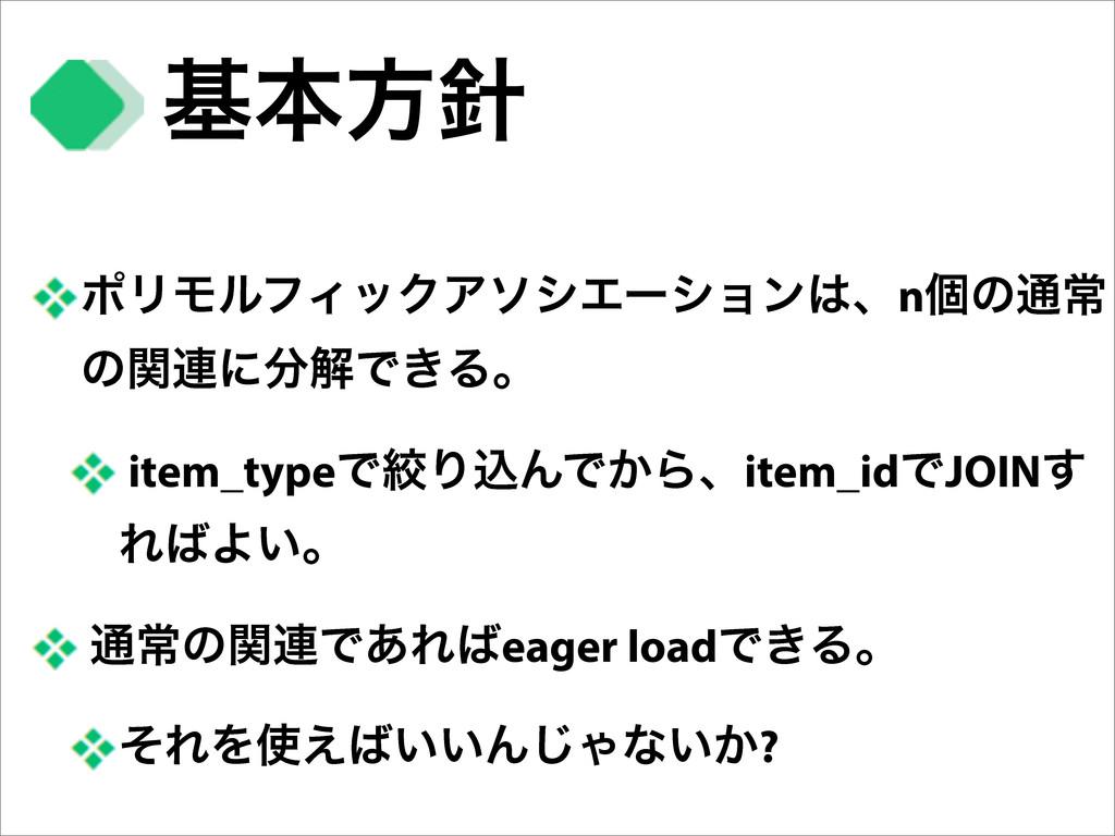ϙϦϞϧϑΟοΫΞιγΤʔγϣϯɺnݸͷ௨ৗ ͷؔ࿈ʹղͰ͖Δɻ item_typeͰߜΓ...
