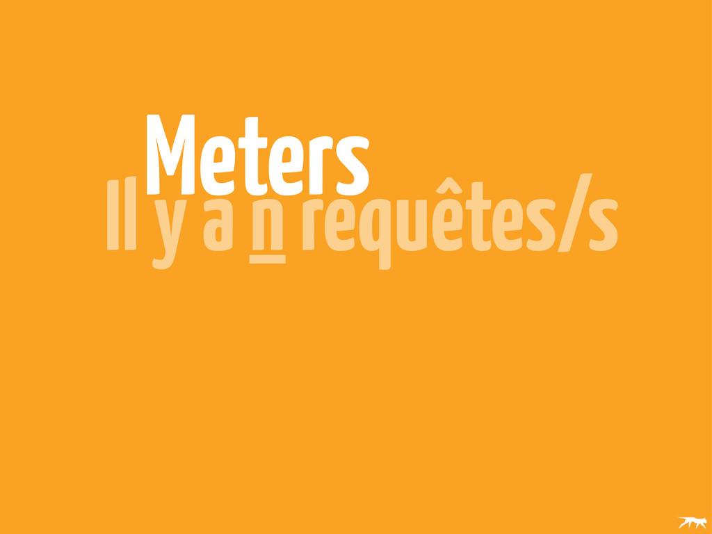 Meters Il y a n requêtes/s