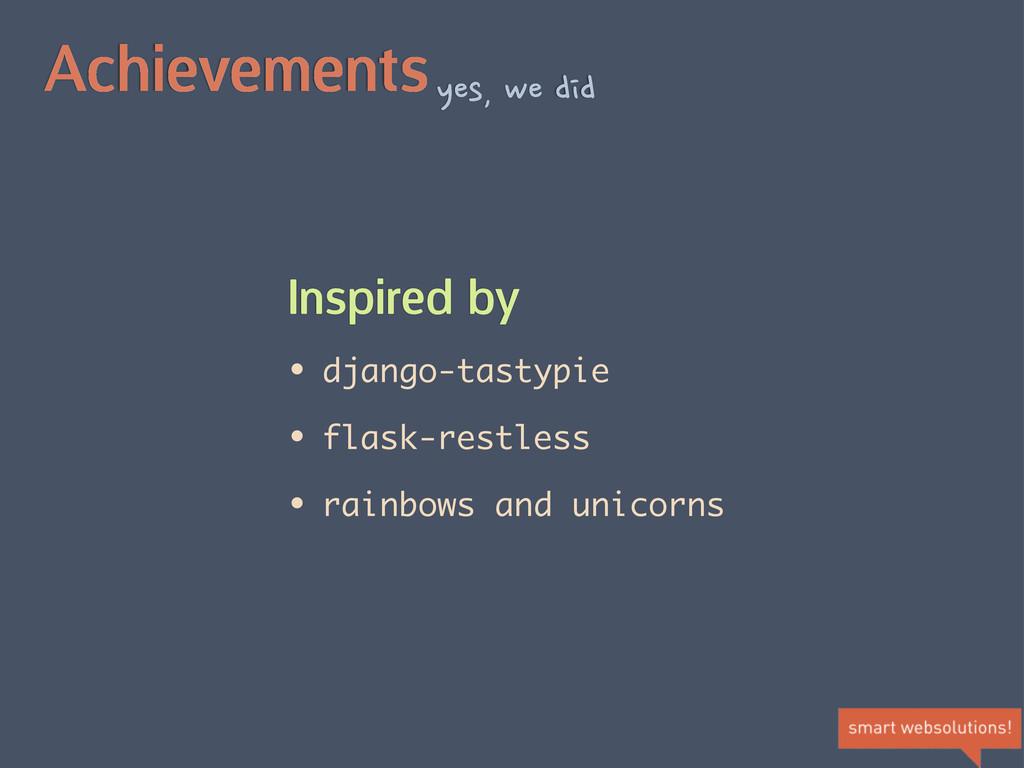 Achievementsyes,