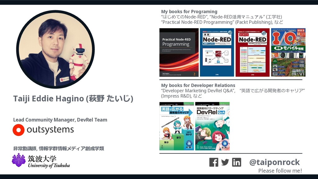 Taiji Eddie Hagino (萩野 たいじ) @taiponrock Please ...