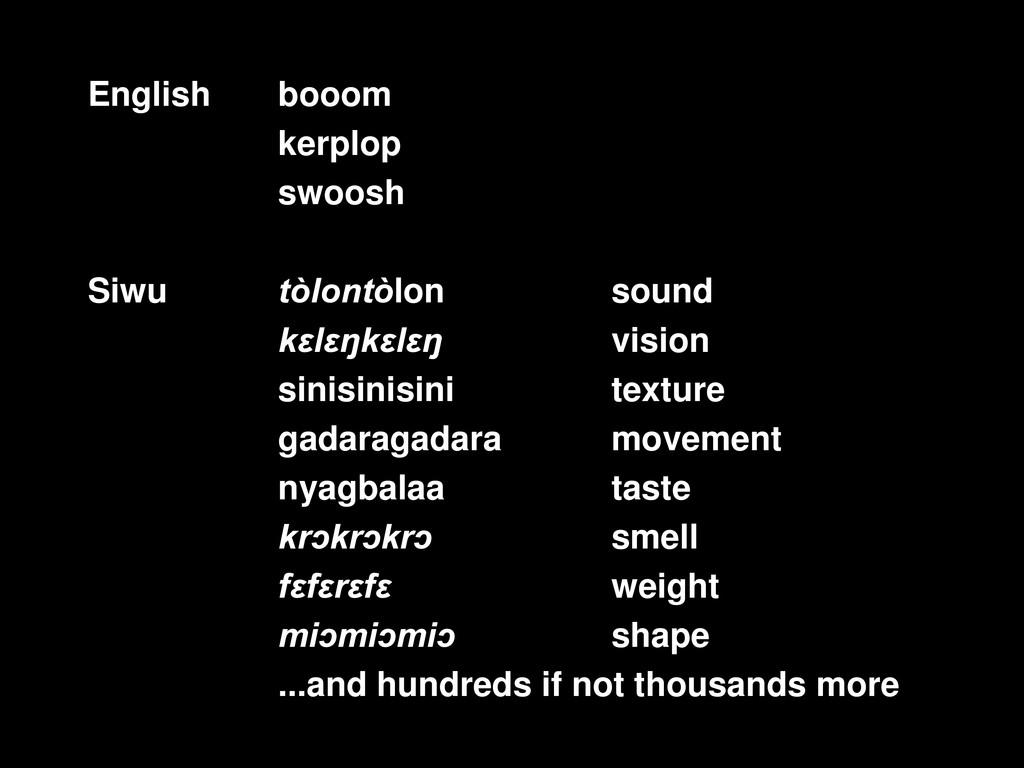 booom kerplop sound swoosh tòlontòlon sound k...