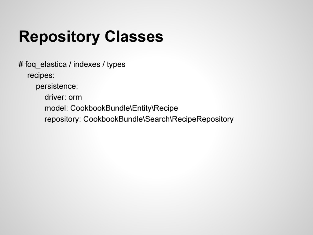 Repository Classes # foq_elastica / indexes / t...
