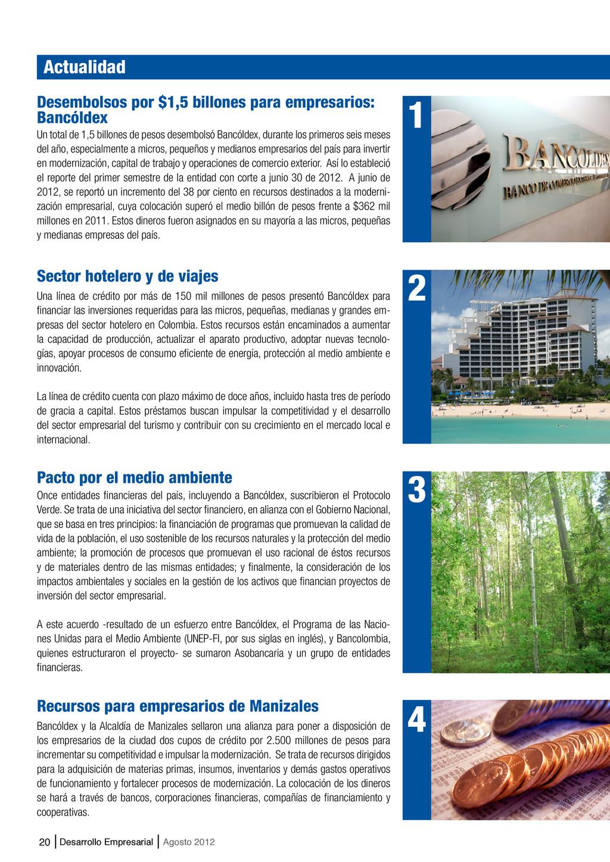 20 Desarrollo Empresarial Agosto 2012 Sector ho...