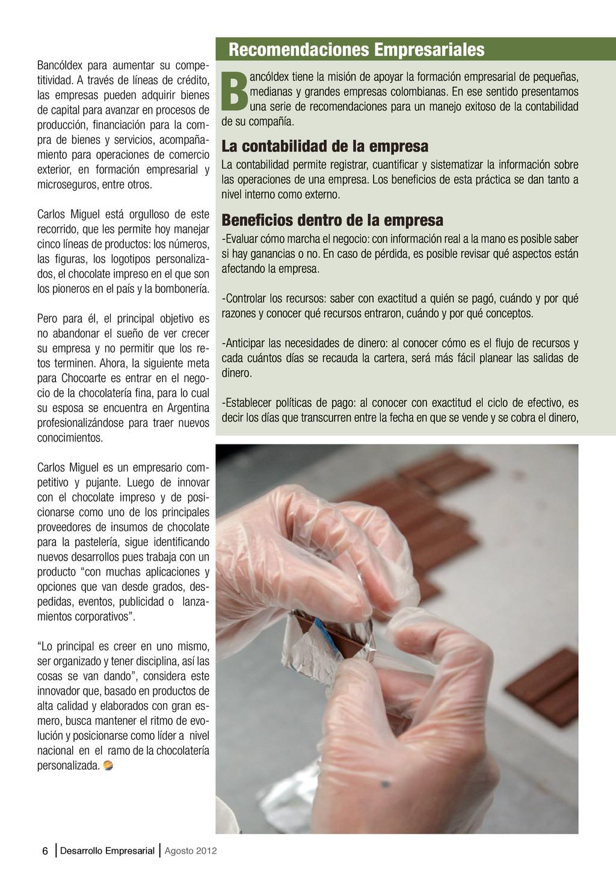 6 Desarrollo Empresarial Agosto 2012 La contabi...