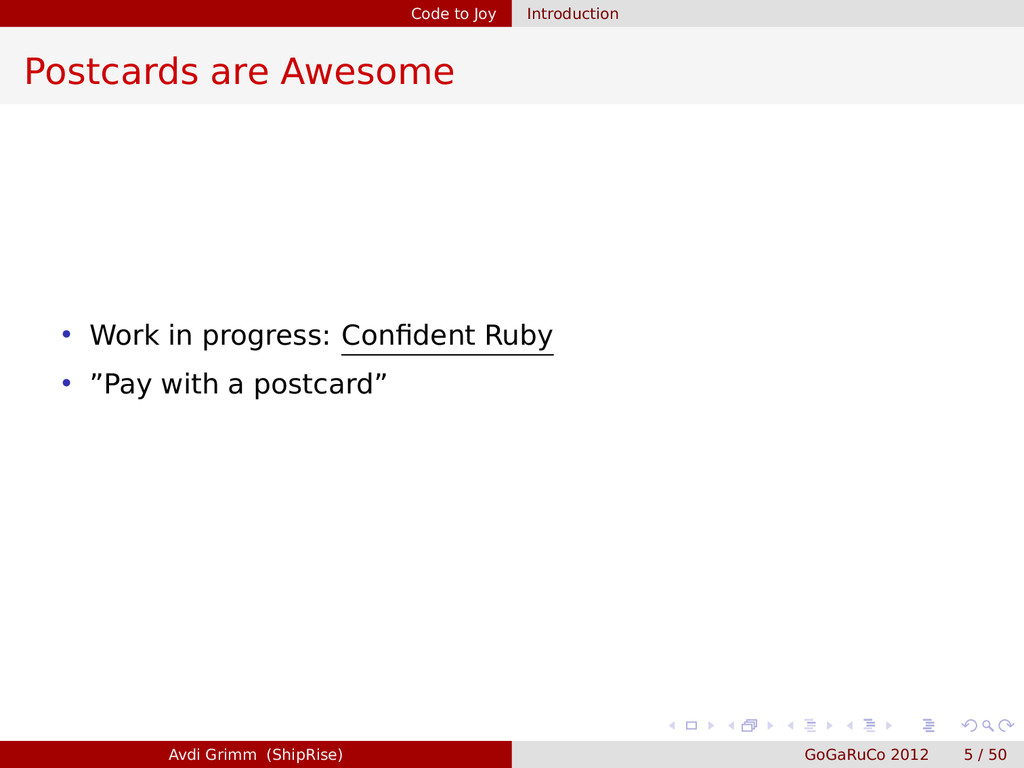 Code to Joy Introduction Postcards are Awesome ...