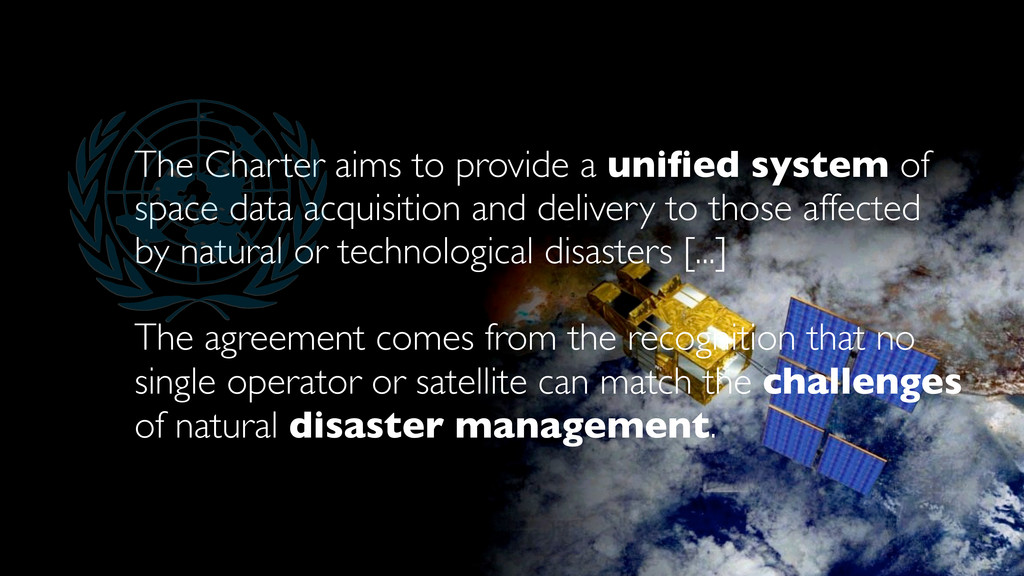 The Charter aims to provide a unified system of ...