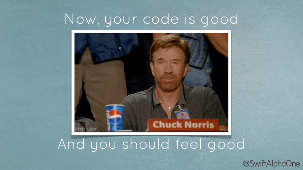@SwiftAlphaOne Now, your code is good And you s...
