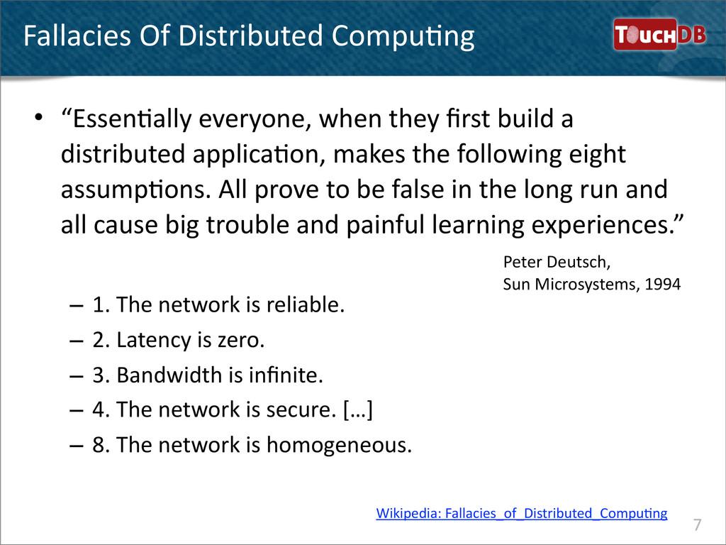 TouchDB Fallacies Of Distributed Compu...