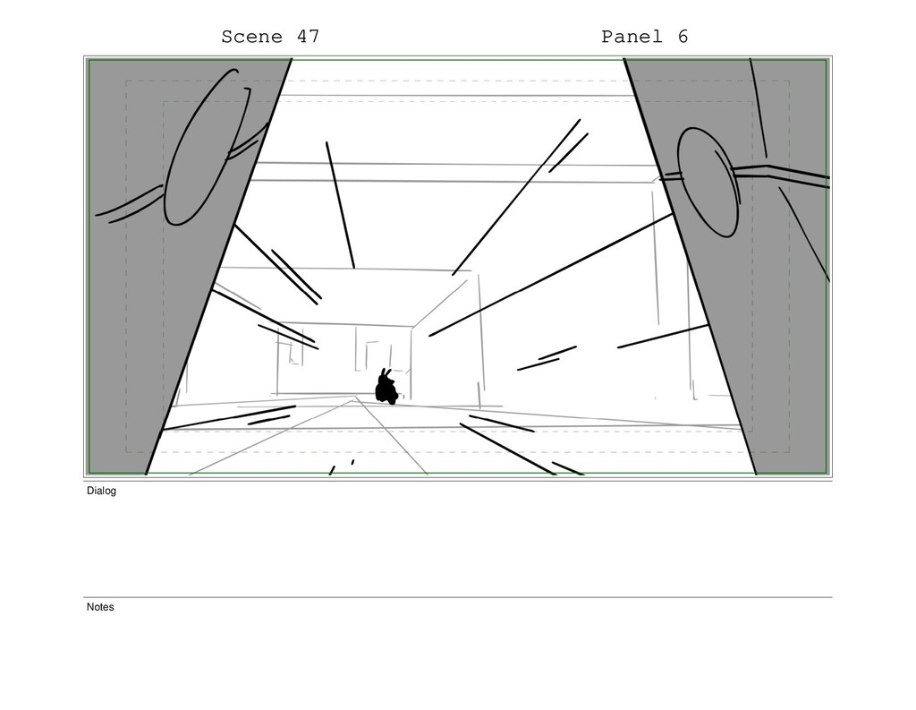Scene 47 Panel 6 Dialog Notes