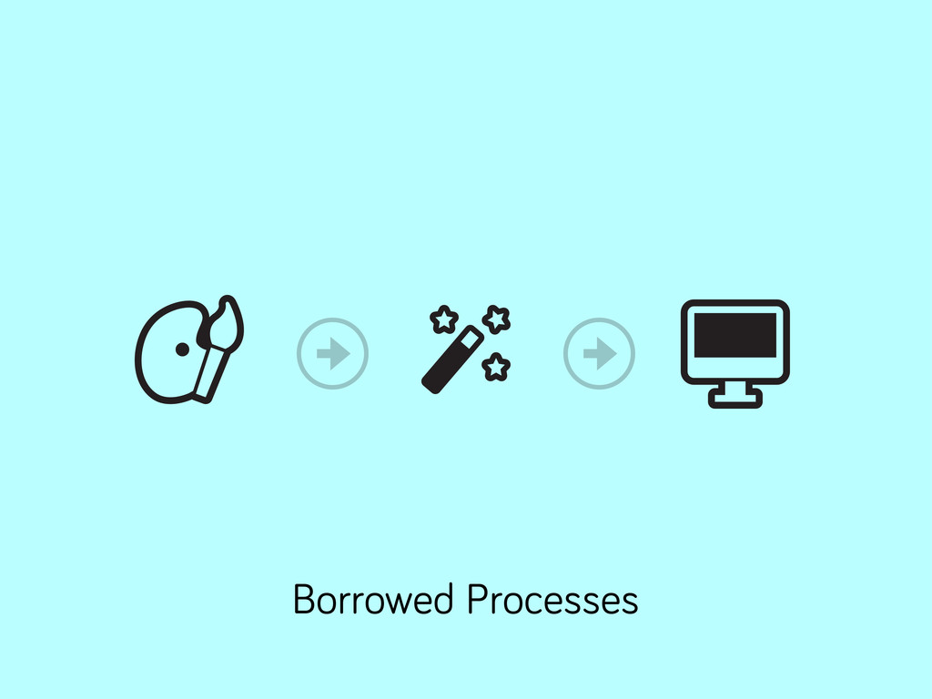Borrowed Processes