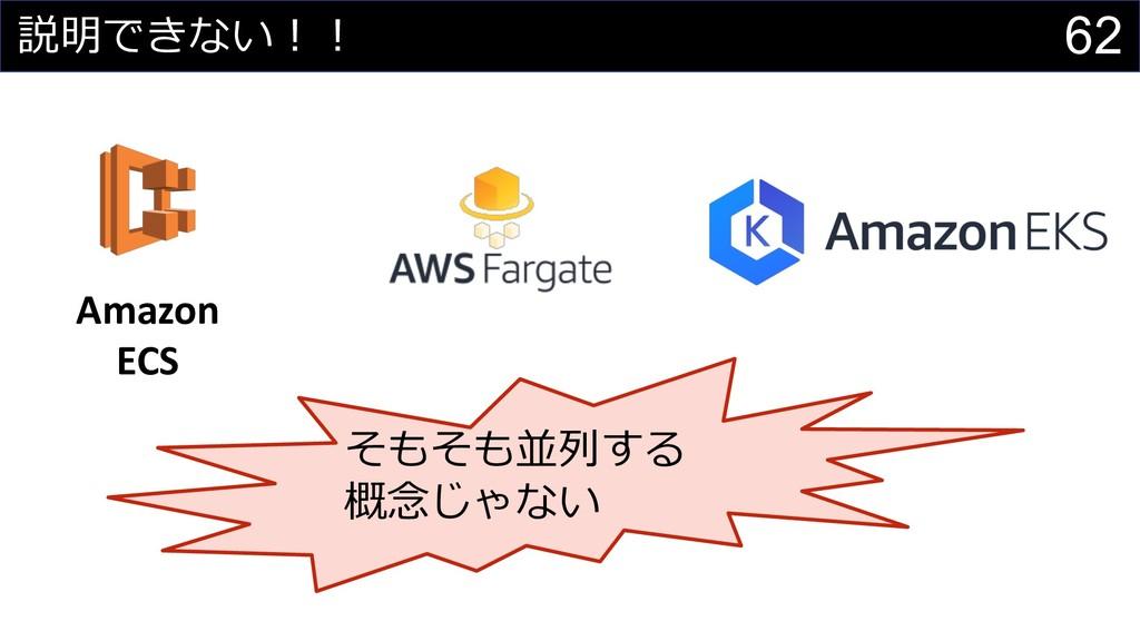 62   Amazon ECS