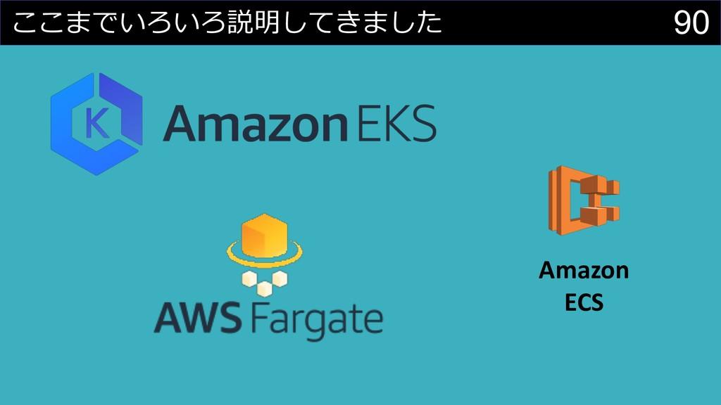 90     Amazon ECS