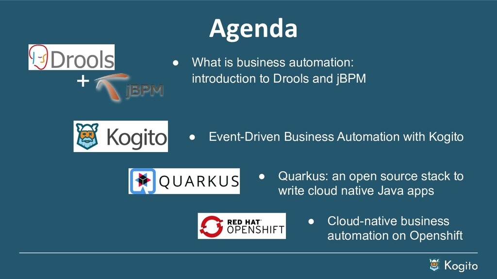 Agenda ● What is business automation: introduct...