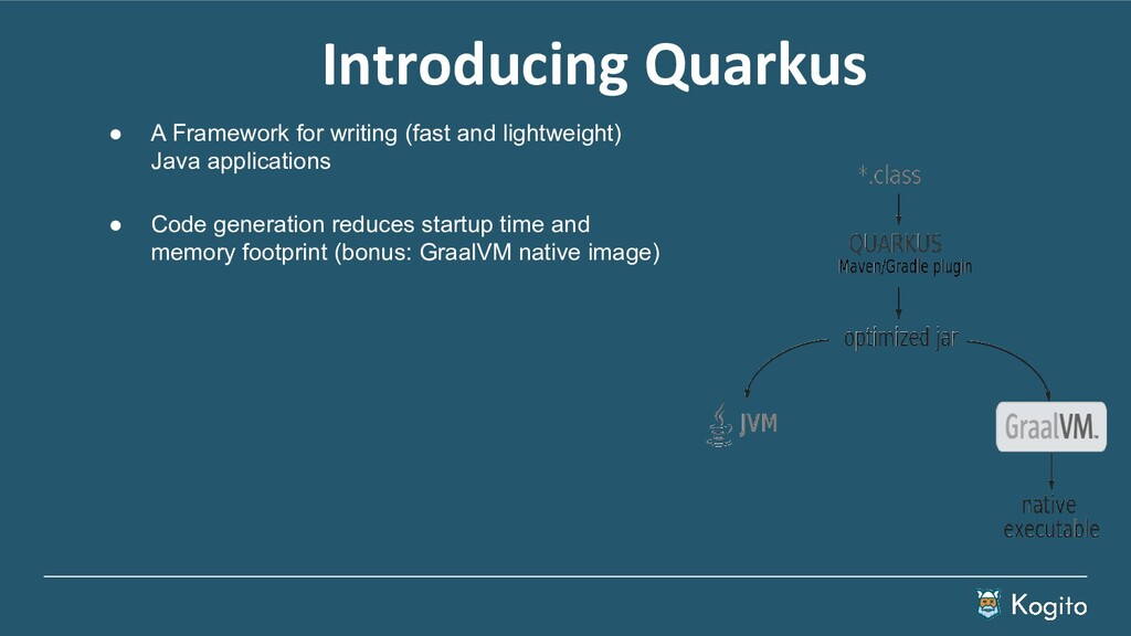 ● A Framework for writing (fast and lightweight...