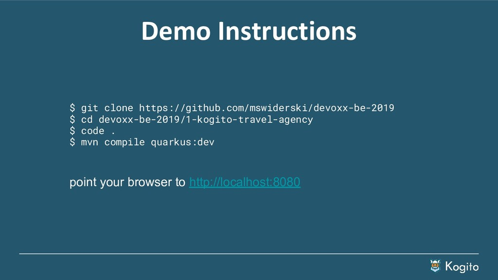 Demo Instructions $ git clone https://github.co...