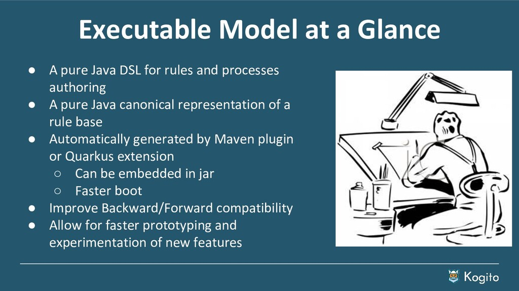 Executable Model at a Glance ● A pure Java DSL ...