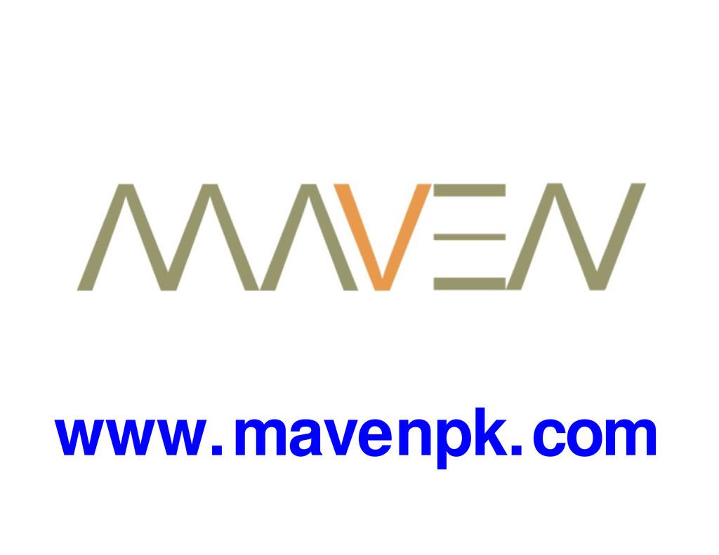 www.mavenpk.com