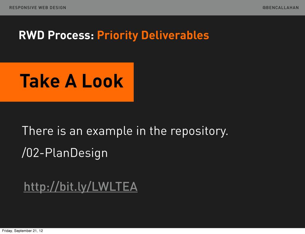 @BENCALLAHAN RESPONSIVE WEB DESIGN There is an ...