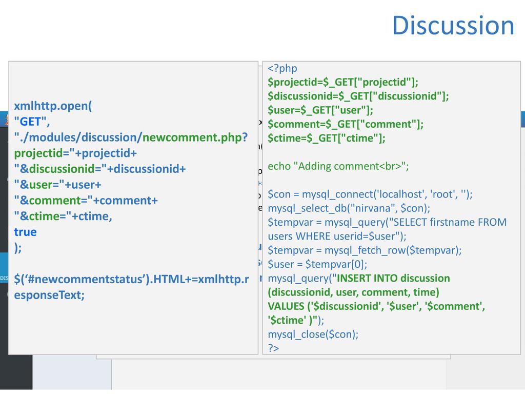 Discussion if (window.XMLHttpRequest) xmlhttp=n...