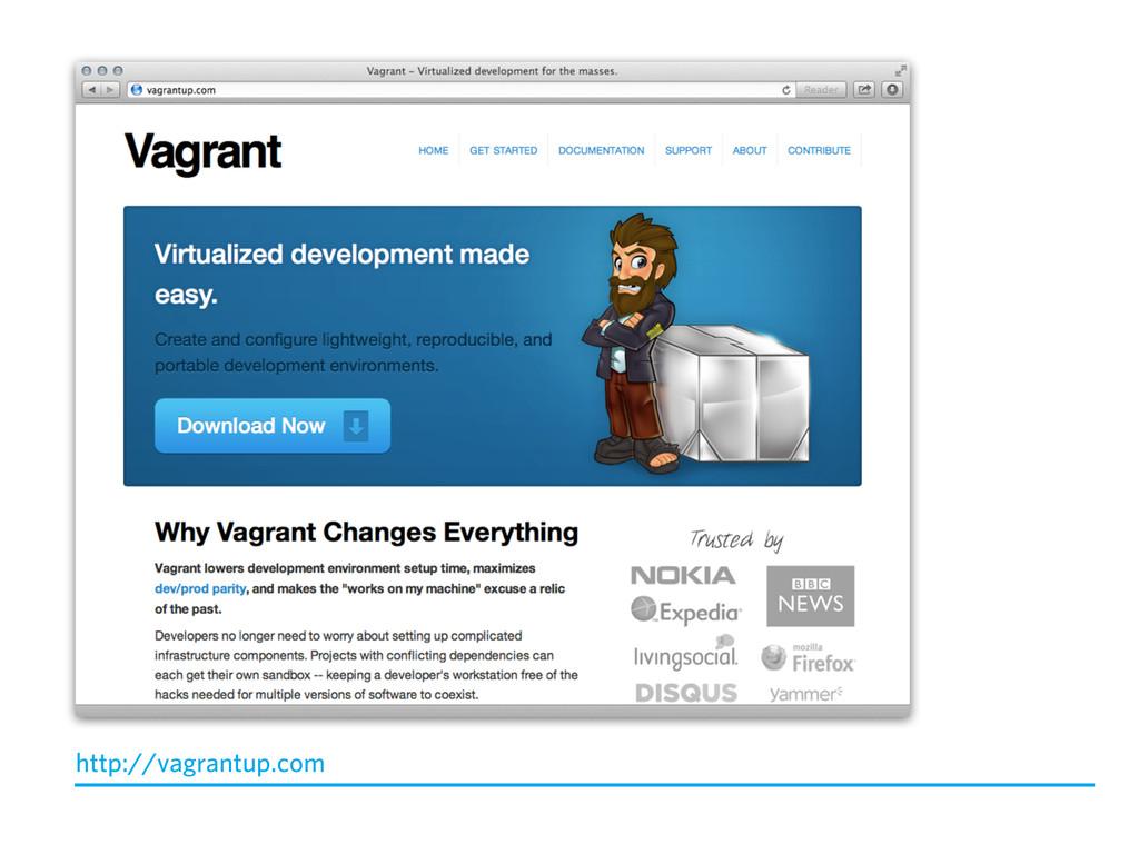 http://vagrantup.com