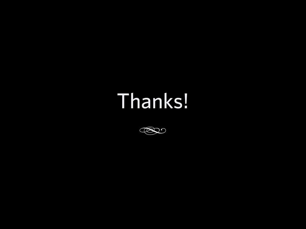 Thanks! d