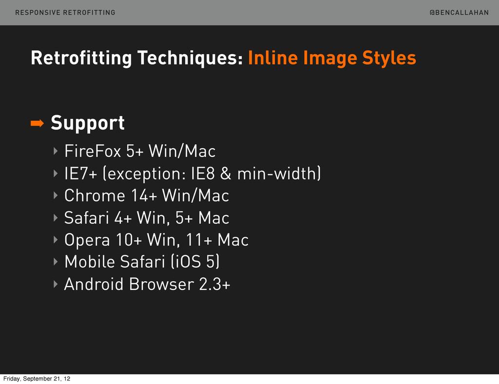 @BENCALLAHAN Retrofitting Techniques: Inline Im...