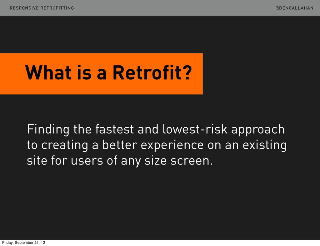 @BENCALLAHAN What is a Retrofit? Finding the fa...