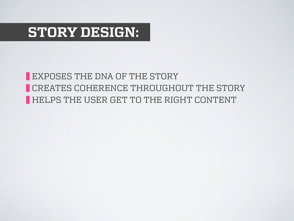 STORY DESIGN: EXPOSES THE DNA OF THE STORY CREA...