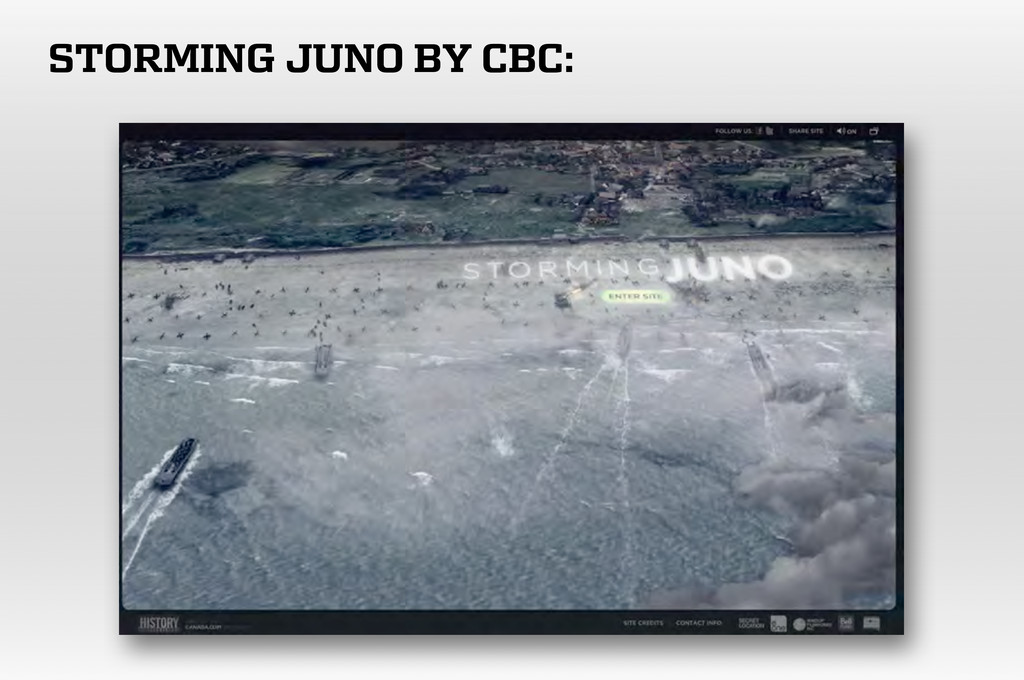 STORMING JUNO BY CBC: