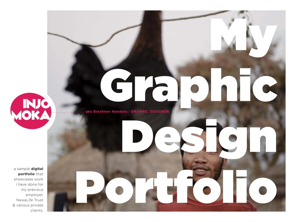 a sample digital portfolio that showcases work ...