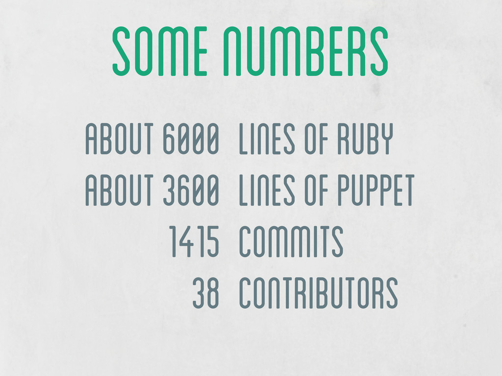 about 6000 about 3600 1415 38 lines of Ruby lin...