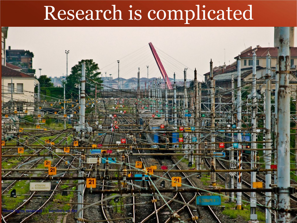 Research is complicated License Some rights res...