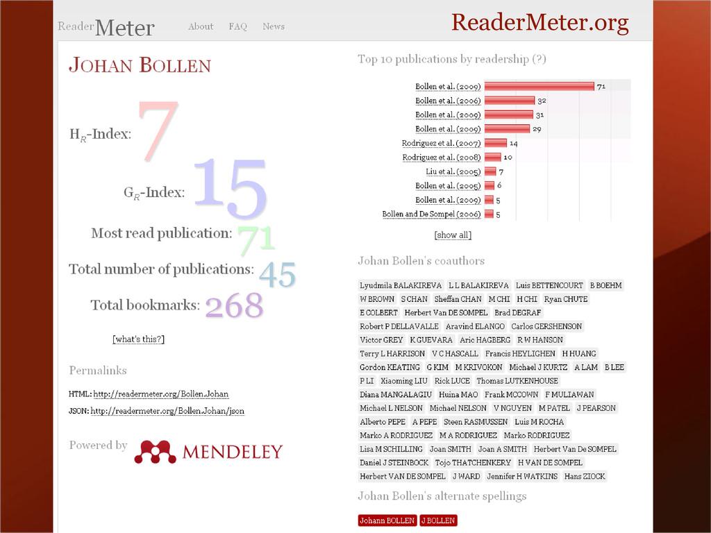ReaderMeter.org