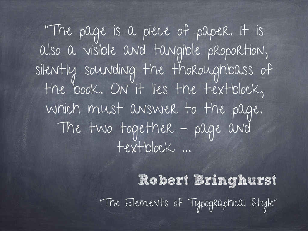 """The page is a piece of paper. It is also a vis..."