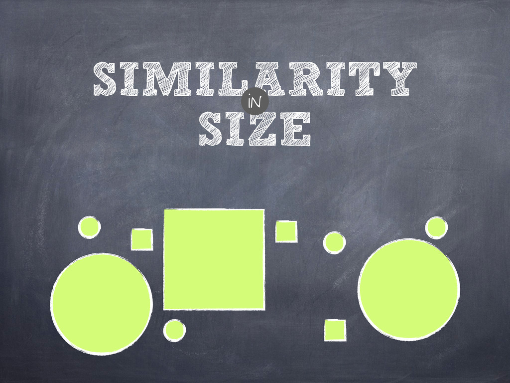 SIZE SIMILARITY in