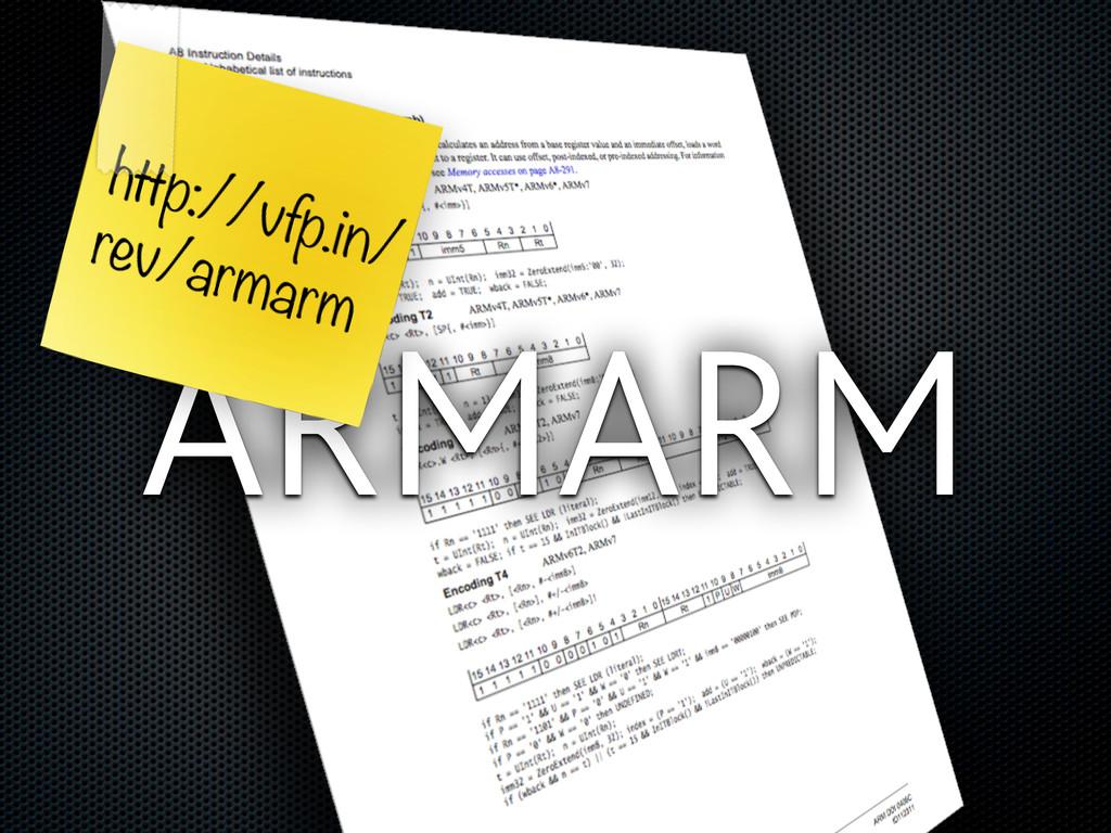 ARMARM